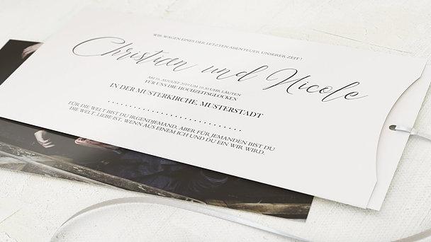 Hochzeitseinladung - Reinschrift