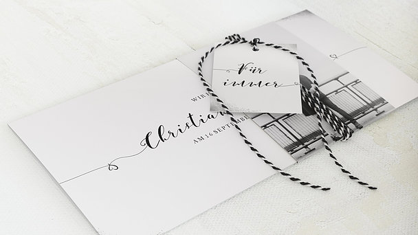 Hochzeitseinladung - Aquarello