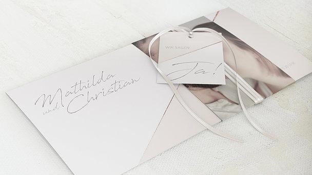 Hochzeitseinladung - Liebeswerk