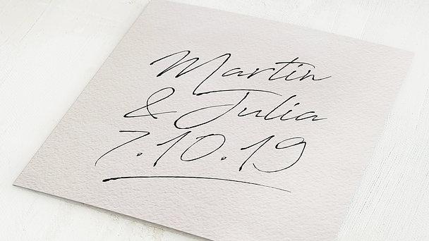 Hochzeitseinladung - Notizblatt