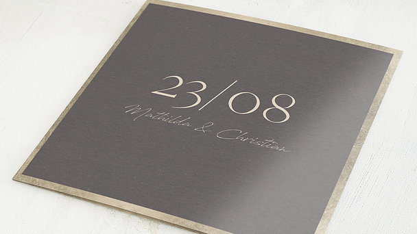 Hochzeitseinladung - Für die Ewigkeit