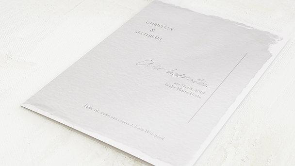 Hochzeitseinladung - Pergament