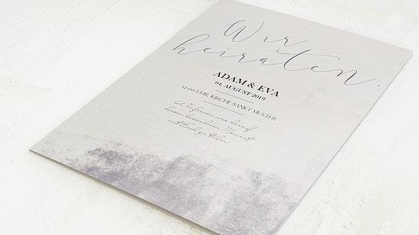 Hochzeitseinladung - Faszinosum