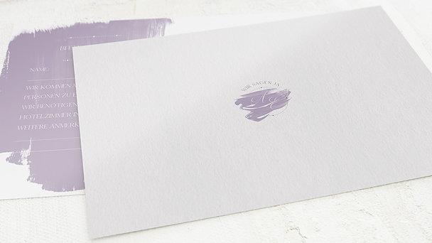 Antwortkarte Hochzeit - Siegelglück