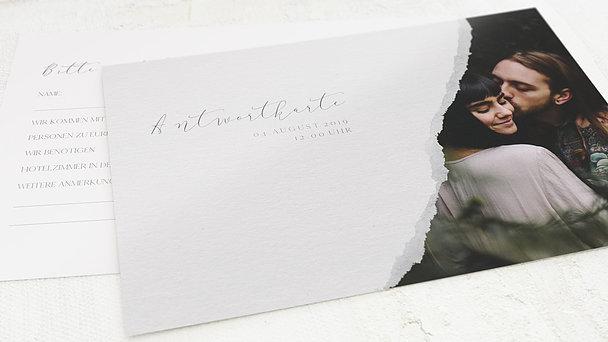 Antwortkarte Hochzeit - Spiegelei
