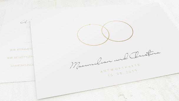 Antwortkarte Hochzeit - Beisammen