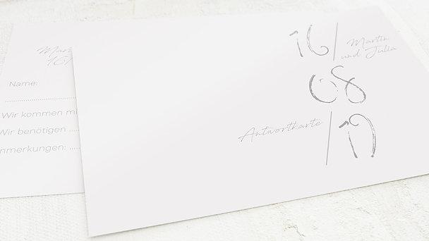 Antwortkarte Hochzeit - Insignien