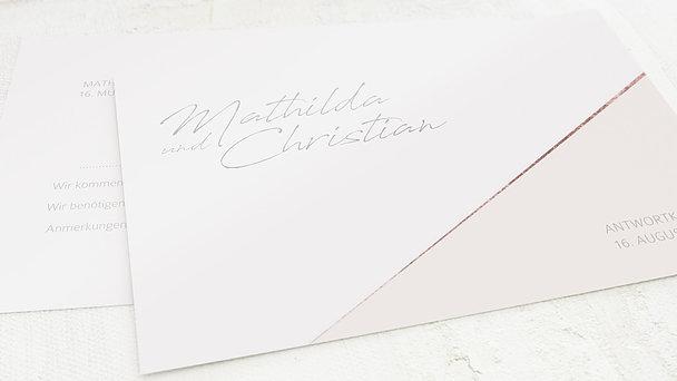 Antwortkarte Hochzeit - Liebeswerk