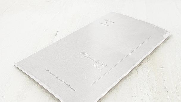 Menükarten - Pergament