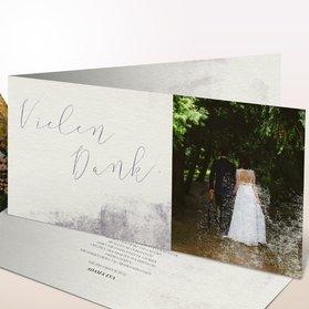 Danksagungskarten Hochzeit - Faszinosum