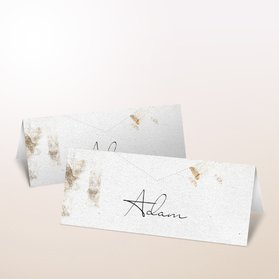 Tischkarten Hochzeit - Scrapbook