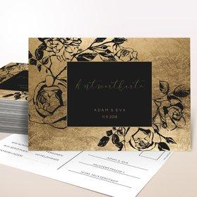 Antwortkarte Hochzeit - Follie