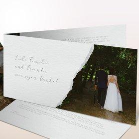 Danksagungskarten Hochzeit - Spiegelei
