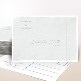 Save the date - Pergament