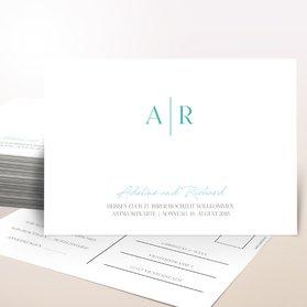 Antwortkarte Hochzeit - Zielgerade