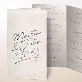 Menükarten - Notizblatt