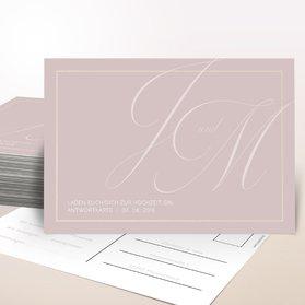 Antwortkarte Hochzeit - Lebenstraum