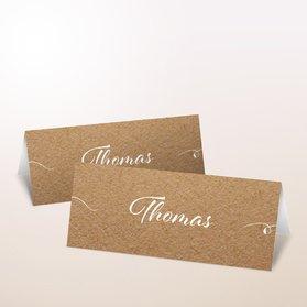 Tischkarten Hochzeit - Zuckerherz