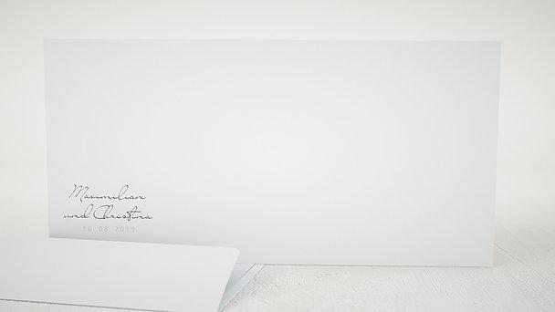 Umschlag mit Design Hochzeit - Beisammen