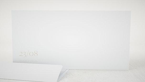 Umschlag mit Design Hochzeit - Für die Ewigkeit