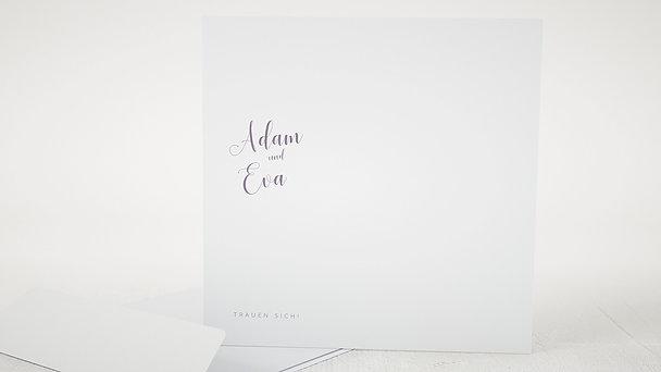 Umschlag mit Design Hochzeit - Poesie