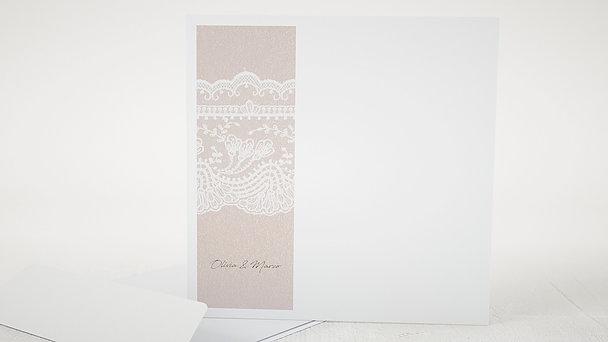 Umschlag mit Design Hochzeit - Bordüre
