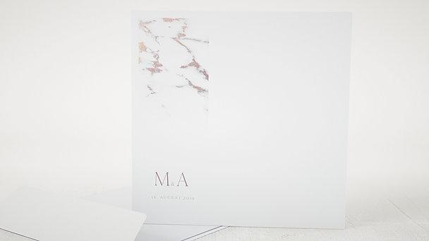 Umschlag mit Design Hochzeit - Marmoriert