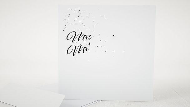 Umschlag mit Design Hochzeit - Traumpfad