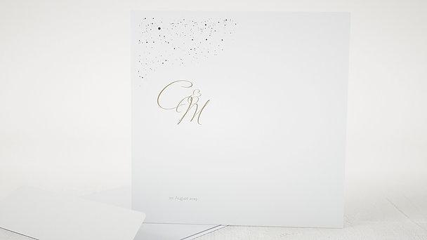 Umschlag mit Design Hochzeit - Sternenschar