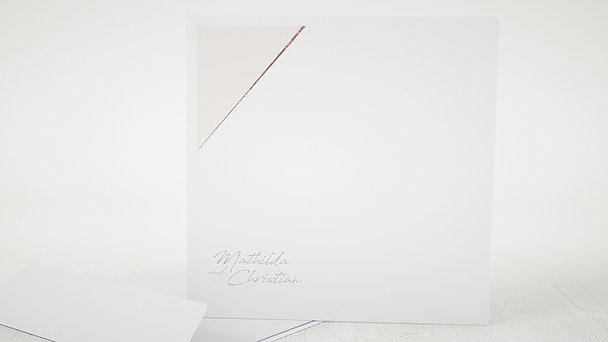 Umschlag mit Design Hochzeit - Liebeswerk