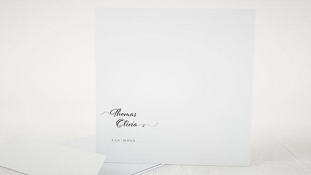 Umschlag mit Design Hochzeit - Zuckerherz