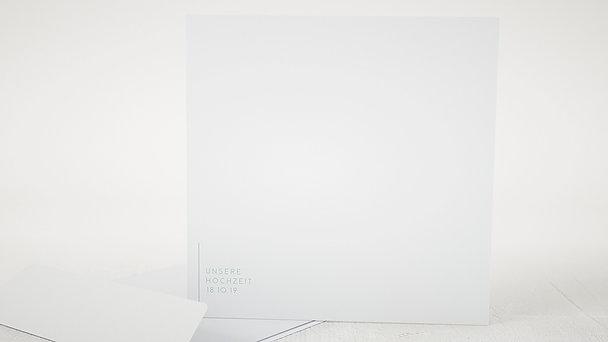 Umschlag mit Design Hochzeit - Peppermint