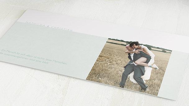 Danksagungskarten Hochzeit - Peppermint