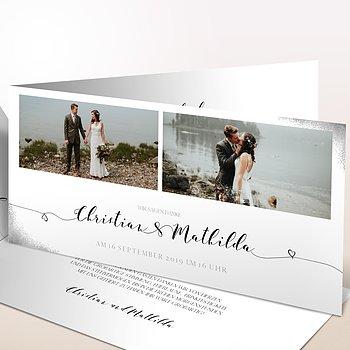 Danksagungskarten Hochzeit - Aquarello