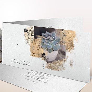 Danksagungskarten Hochzeit - Scrapbook