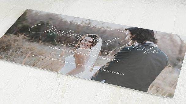 Danksagungskarten Hochzeit - Reinschrift