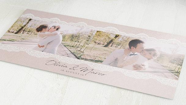 Danksagungskarten Hochzeit - Bordüre
