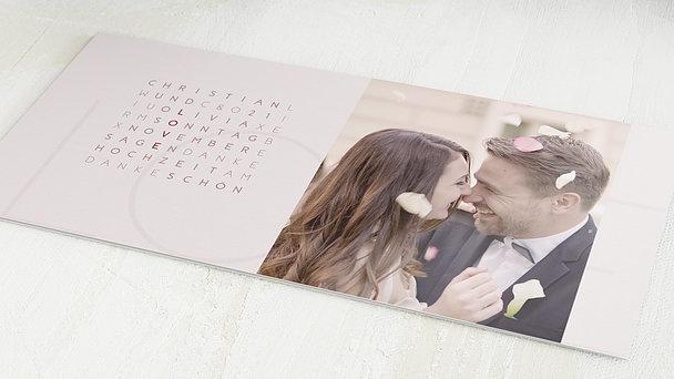 Danksagungskarten Hochzeit - Liebesquiz
