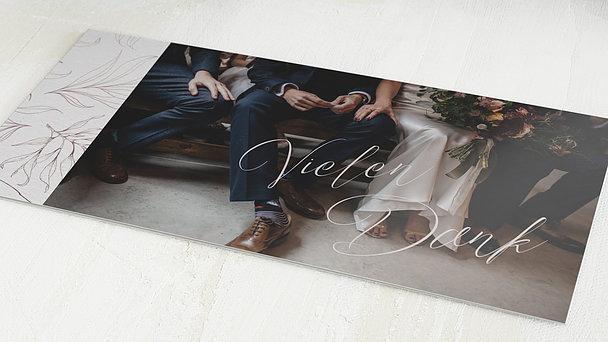 Danksagungskarten Hochzeit - Gloria