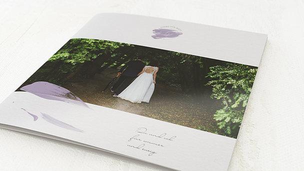 Danksagungskarten Hochzeit - Siegelglück