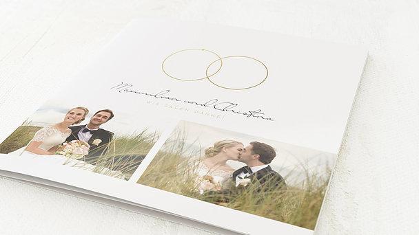 Danksagungskarten Hochzeit - Beisammen