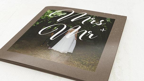 Danksagungskarten Hochzeit - Traumpfad