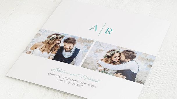 Danksagungskarten Hochzeit - Zielgerade