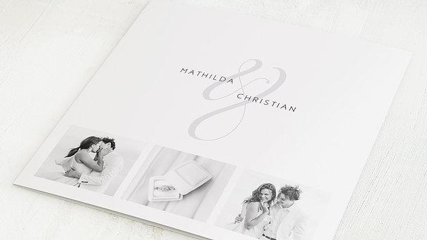 Danksagungskarten Hochzeit - Volute