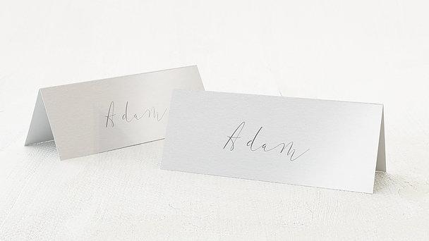 Tischkarten Hochzeit - Spiegelei