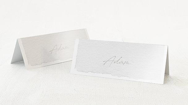 Tischkarten Hochzeit - Pergament