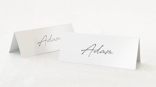 Tischkarten Hochzeit - Liebesgitter