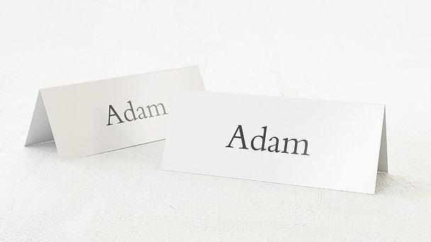 Tischkarten Hochzeit - Reinschrift