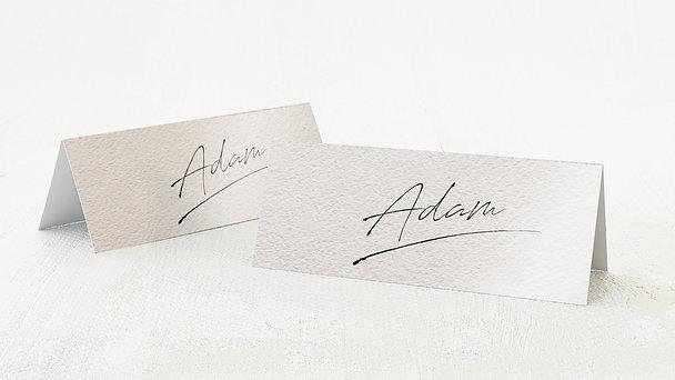 Tischkarten Hochzeit - Notizblatt
