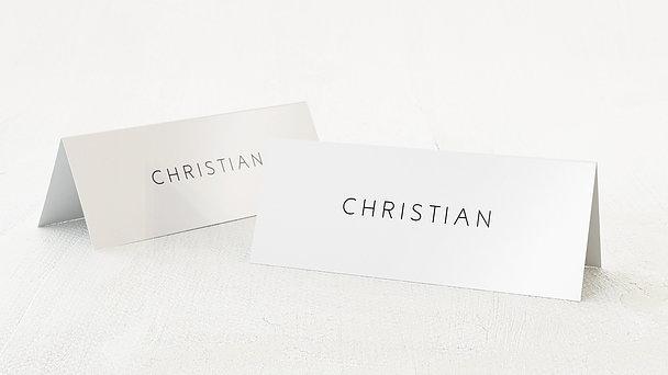 Tischkarten Hochzeit - Volute